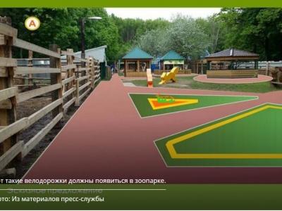 Самые лучшие дороги в Новочебоксарске будут в... зоопарке