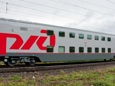 РЖД анонсирует запуск двухэтажных вагонов