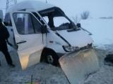 В Чувашии произошли две аварии с участием микроавтобусов