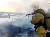 В Чувашии после пала сухой травы сгорели четыре дома