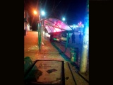 В Чебоксарах пьяный водитель сбил пешехода на «зебре» и въехал в остановку
