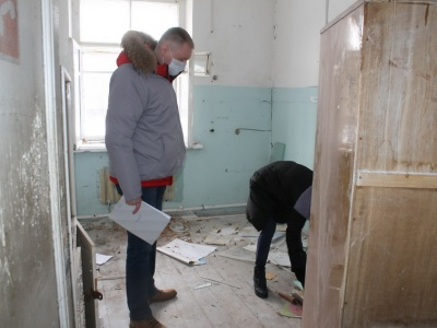 Заброшенный противотуберкулезный диспансер в Шумерле – объект опасности