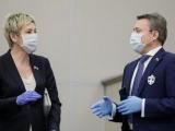 Депутаты начали носить обнонги от коронавируса
