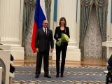 Депутата Госдумы Алену Аршинову наградили